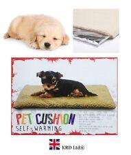 SELF WARMING PET CUSHION Thermal Heated Heating Cat Dog Bed Mat Super Warm Rug