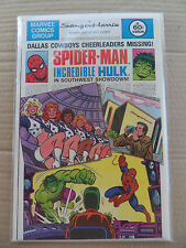 Spider-man & Incredible Hulk . Sanger-Harris Giveaway . Marvel 1982 . VF / NM