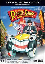 Who Framed ROGER RABBIT - Bob HOSKINS Christopher LLOYD (2 DVD SET) Region 4