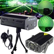 Mini LED R&G Stage Laser Projector Lighting Disco DJ Club Light Music Active UK