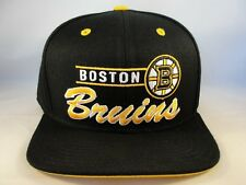 Boston Bruins NHL Reebok Snapback Cap Hat Black