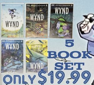 Boom Studios Wynd #1-5 James Tynion IV Complete Run Unread High Grade
