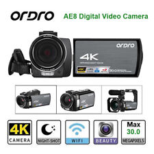 Ordro Digital Video Camera IR Infrared FHD Night Vision 16X Digtal Zoom Recorder