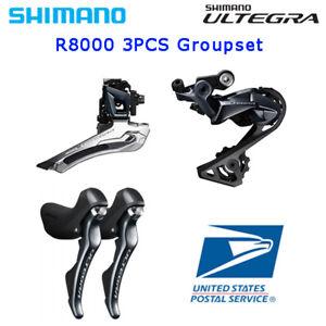 Shimano Ultegra R8000 3pcs Groupset Front Rear Derailleur Brake Lever Set ROAD