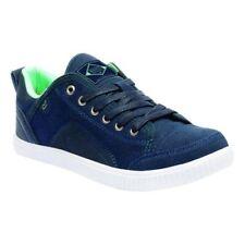 Zapatillas de lona de mujer de color principal azul de lona