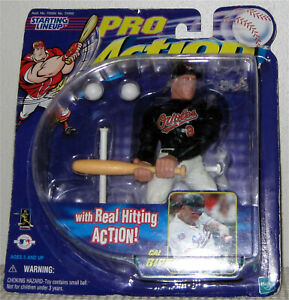1998 Cal Ripken Jr Starting Lineup Pro Action- Baltimore Orioles