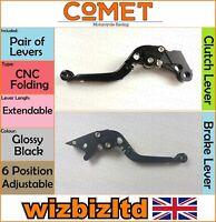 Honda CBR 250 R 2011-2013 [Pliable Extensible Noir ] [ Comet Course Levier]