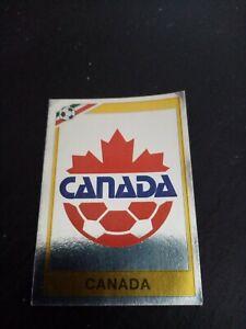 Panini Mexico 86 World Cup Sticker Canada Shiny