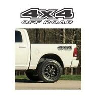 4×4 Off Road Stickers Truck Bed Set of 2 a16 – Ford Ford Chevy Dodge Toyota – 4×
