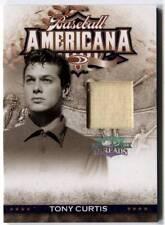Tony Curtis 2008 Donruss Threads Baseball Americana CLOTHING PATCH #d /500