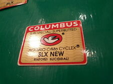 "COLUMBUS SLX ""new"" decal. NOS ex framebuilder. NOT repro! None better. Sticker"