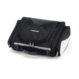 BikeTek Motorcycle TailPack Motorbike Soft Luggage Tail Bag Raincover Black New