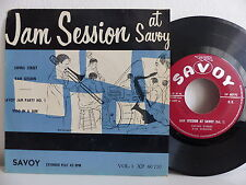 Jam session at Savoy Swing street .. EARL BOSTIC / COZY COLE 80770