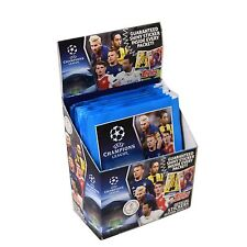 2016-17 TOPPS CHAMPIONS LEAGUE STICKERS 50 PACK BOX FACTORY SEALED 250 STICKERS