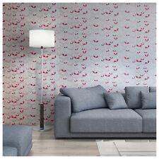 PSIM 1011 MISSPRINT sapliings Crema/Rosa Wallpaper-Nuevo - 3 Rollos