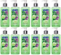 SOFTSOAP Liquid Hand Soap Wild Basil Lime12 BOTTLES 8oz total 96oz Free Shipping