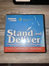 Stand and Deliver A Dale Carnegie Training - 6 CD set - Nightingale Conant New
