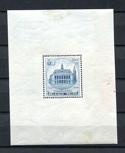 1936.BELGICA.BELGIQUE.HOJA Block Yvert 6 .nuevo (MH) Catalogue