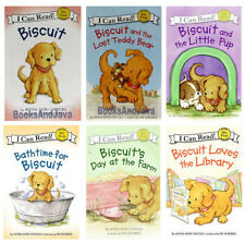 I Can Read My First : Biscuit,Lost Teddy Bear,Bathtime,Library,Farm + (pb) 6Bks