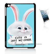 ( For iPad Mini 4 ) Back Case Cover P11590 Cartoon Rabbit
