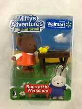 Miffy'S Adventures - Big and Small - Boris At The Workshop - Figure Set - New