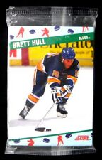 1991 SCORE NATIONAL CONVENTION SEALED 10 CARD SET** Gretzky, Roy, Hull,....