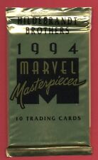 MARVEL MASTERPIECES 1994 BOOSTER PACK (x 1) Hildebrant Brothers NUOVO SEALED