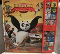DREAMWORKS - KUNG-FU PANDA - DELUXE SOUND STORYBOOK - EXCELLENT CONDITION - GIFT