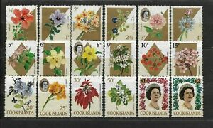 Cook Islands - 1967 - Complete set Michel # 152/169 - mint never hinged