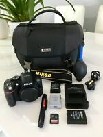 Nikon D5300 Digital SLR Body Only (Black) + 32GB