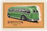 Playing Cards Single Card Old HARRINGTON COACHWORK Hove Bus COACH Advertising 2