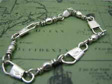 ACTS Sterling Silver Fishers Of Men Bracelet 7.5 inches