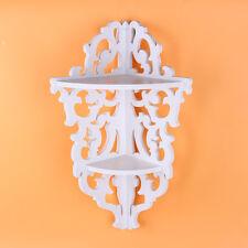 Shabby Filigree Style Shelves Cut Out Design Wall Corner Shelf Candle Home -UK