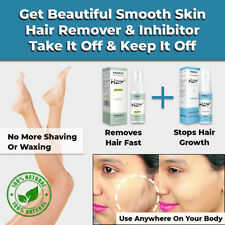 NEW 100% NATURAL PERMANENT HAIR REMOVAL SPRAY & HAIR GROWTH INHIBITOR PAINLESS