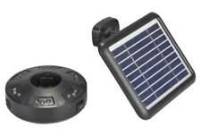 lampada led per ombrellone a energia solare con pannello fotovoltaico