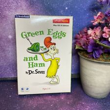 Mac OS X Green Eggs And Ham Dr. Seuss Broderbund Ages 3 to 8 CD Rom