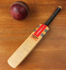 Miniature Gray Nicolls Original Autograph Mini Cricket Bat Hampshire 1993. Gift