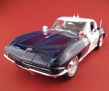 Chevrolet Corvette  POLICE  1965  Special Edition  Maisto 1:18  OVP  NEU