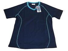 NEU Damen Laufshirt / Funktionsshirt Gr. S 36 / 38 dunkelblau !!