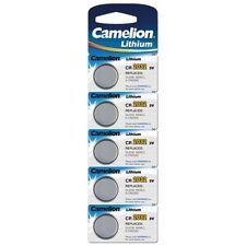 Camelion CR2032 3V 220mAh Pile Bouton au Lithium (Blister de 5)