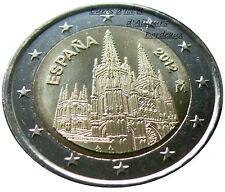 Coin 2 euros SPAIN 2012 - Cathedral Burgos - UNC - New