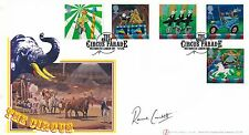 GB. 2002 Buckingham First Day Cover,The Circus Parade Signed by Ronnie Corbett