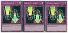 Magic Cylinder 1st X 3 YUGIOH INCH 1st edition super Rare