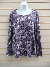 M&Co Plus Size Stretch Tops & Shirts for Women
