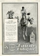 """""""EAU DE COLOGNE"""" Annonce originale entoilée L' ILLUSTRATION 22/09/1928  31x42cm"""