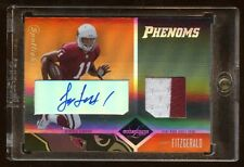 2004 LIMITED LARRY FITZGERALD RC AUTO 2 COLOR PATCH /25  SUPER RARE  GREAT B I N