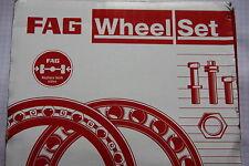 FAG Wheel Bearing = Hub VW Polo 9N 2 Sets for Front New 713610470