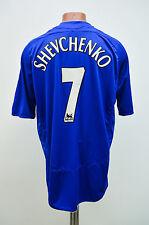 chelsea london 2006/2007 home football shirt trikot adidas england schewtschenko #7
