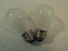 Philips 15 Watt Incandescent Light Bulb 2 Pack Frost Appliance A15 Series 15A15