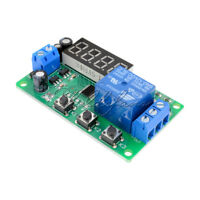DC 12V Digital LED Display Automation Delay Timer Control Switch Relay Module